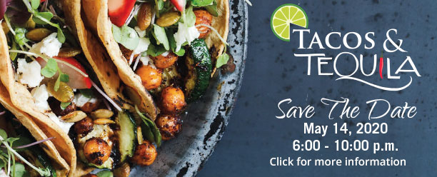Taco and Tequila Save the Date button